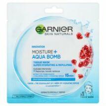 Garnier Skin Naturals Moisture + Aqua Bomb szuper hidratáló feltöltő textil maszk 32g