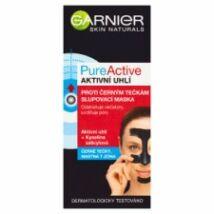 Garnier Skin Naturals Pure Active aktív szén mitesszerek elleni lehúzható maszk 50ml