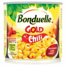 Bonduelle Gold Chili Morzsolt Csemegekukorica paprikával és chilivel 310g
