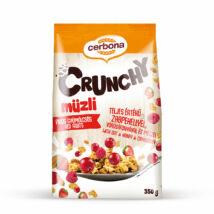 Cerbona Crunchy müzli 200g piros gyümölcsös