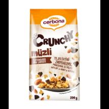 Cerbona Crunchy müzli 200g tejcsoki
