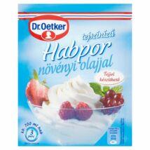 Dr. Oetker tejszínízű habpor növényi olajjal 45g