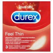 Durex Feel Thin óvszer 3db