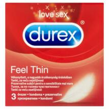 Durex Feel Thin óvszer 3db