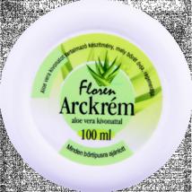 Floren arckrém aloe vera kivonattal 100ml