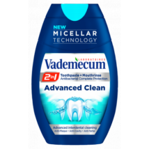 Vademecum 2in1 Advanced Clean fogkrém+szájvíz 75ml