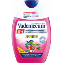 Vademecum 2in1 Junior eper fogkrém+szájöblítő 75ml