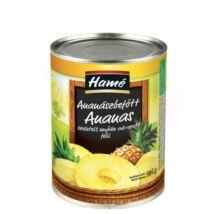 Hamé szeletelt ananász 567g