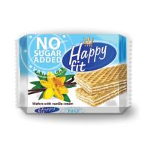Happy fit vanílás ostya szelet cukormentes 95g