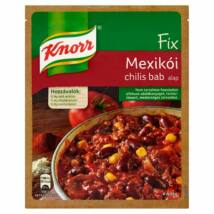 Knorr Fix mexikói chilis bab alap 50g