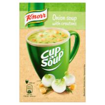 Knorr Cup a Soup levespor hagymakrémleves zsemlekockával 17g