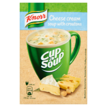 Knorr Cup a Soup levespor sajtkrémleves zsemlekockával 22g