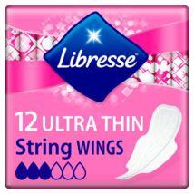 Libresse Ultra String vékony szárnyas egészségügyi betét tange fehérneműhöz 12db