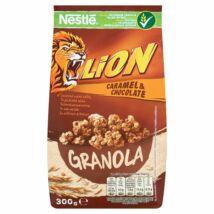 Nestlé Lion Granola karamellás csokoládés gabonafalatok zabpehellyel és kalciummal 300g