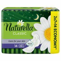 Naturella Classic Night Camomile éjszakai betét 14db