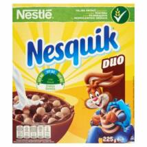 Nestlé Nesquik Duo Kakaós és vanília ízű gabonapehely 225g