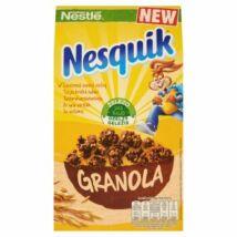 Nestlé Nesquik Granola ropogós gabonafalatok zabpehellyel, kakaós ízű gabonapehellyel 300g