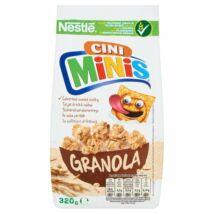 Nestlé Cini Minis Granola ropogós gabonafalatok zabpehellyel és fahéjas ízű gabonapehellyel 320g