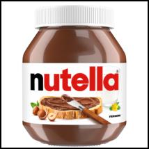 Nutella mogyorókrém 700g