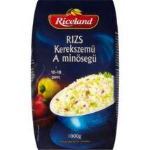 Riceland 'A' minőségű kerekszemű rizs 1kg