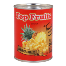 Top Fruits ananász darabolt 565g