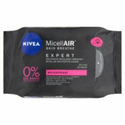 Nivea MicellAir Skin Breathe Expert Micellás arctisztító kendő 20db