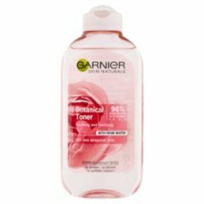 Garnier Skin Naturals Botanical arctisztító tonik rózsavízzel 200ml