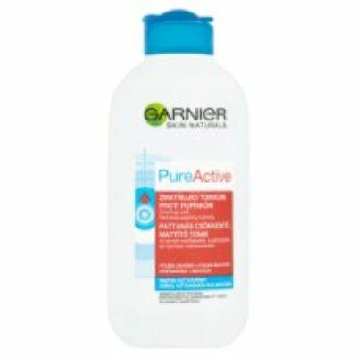 Garnier Skin Naturals Pure Active pattanás csökkentő, mattító tonik 200ml