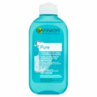 Garnier Skin Naturals Pure Tonik kifényesedő arcbőrre és tág pórusokra 200ml
