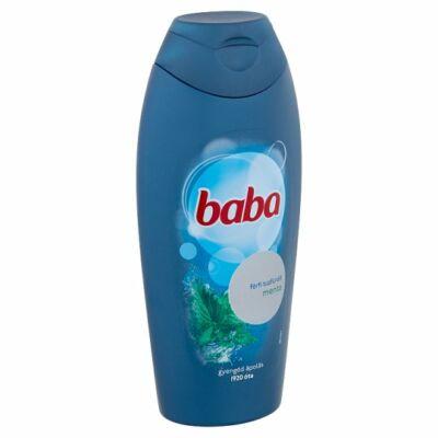 Baba tusfürdő férfiaknak menta 400ml