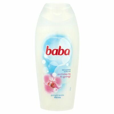 Baba Orchidea Tej és Gyöngy Kényesztető Tusfürdő 400ml