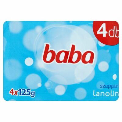 Baba lanolin szappan 4x125g