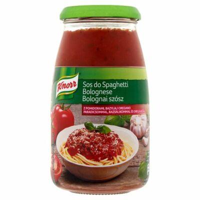 Knorr bolognai szósz paradicsommal, bazsalikommal és oregánóval 500g