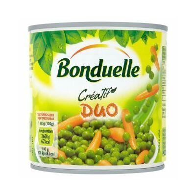 Bonduelle Duo Zöldborsó-Bébirépa keverék 400g