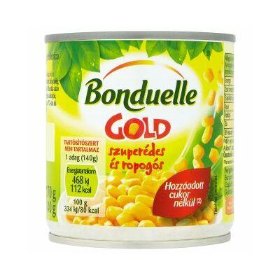 Bonduelle Gold Morzsolt Csemegkukorica 170g