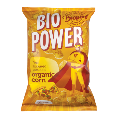 Biopont extrudált kukorica, pizzás, GLUTÉNMENTES bio 70g
