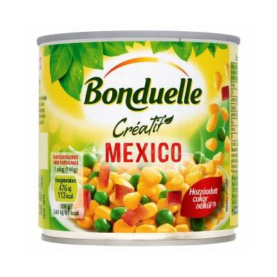 Bonduelle Mexico Zöldségkeverék 340g