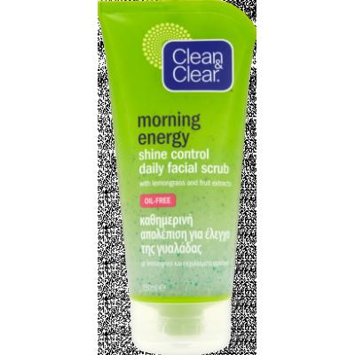 Clean & Clear Morning Energy Shine Control bőrradír 150ml