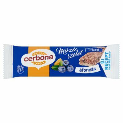 Cerbona áfonyás joghurtos müzliszelet 20g