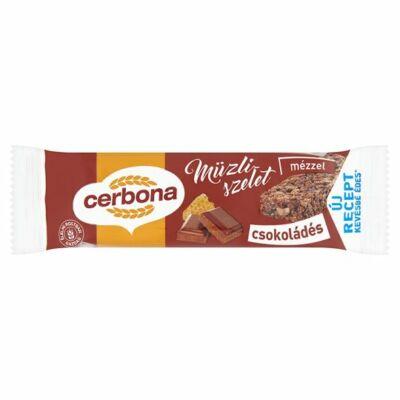 Cerbona csokoládés müzliszelet 20g
