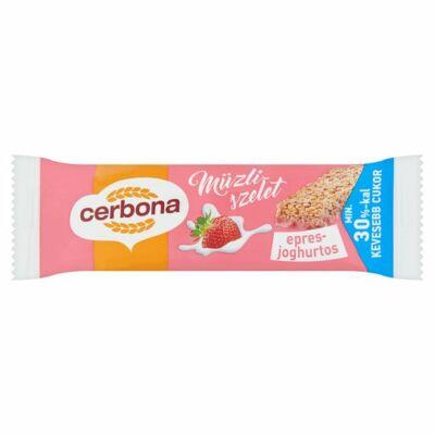 Cerbona epres joghurtos müzliszelet 20g