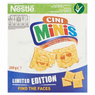 Nestlé CIni Minis ropogós, fahéjas gabonapehely teljes kiőrlésű búzával 250g