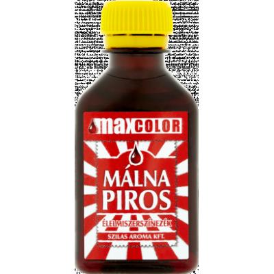 Max Color málnapiros ételfesték 30ml
