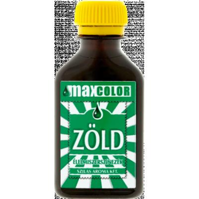 Max Color zöld ételfesték 30ml