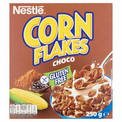 Nestlé Corn Flakes Choco gluténmentes csokoládé ízű ropogós kukoricapehely vitaminokkal 250g