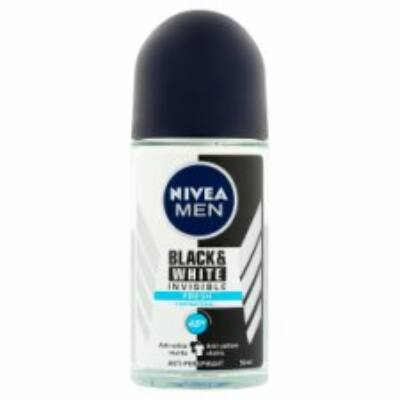 Nivea Men Black White Invisible Fresh izzadásgátló golyós dezodor 50ml