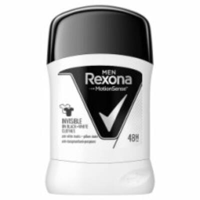 Rexona Men Invisible On Black + White Clothes izzadásgátló stift 50ml