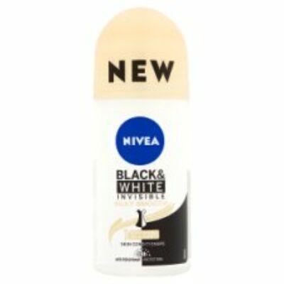 Nivea Black White Invisible Silky Smooth izzadásgátló golyós dezodor 50ml