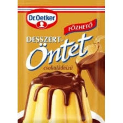 Dr. Oetker desszertöntet csokoládé 36g