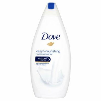 Dove Deeply Nourishing Bőrtápláló Krémtusfürdő 500ml